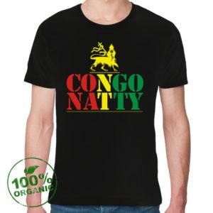 T-Shirt «Congo Natty», Black, Сolor logo