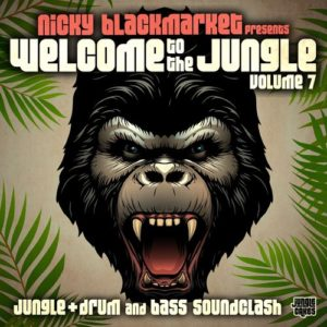 Nicky Blackmarket - Welcome To The Jungle Vol. 7 (Continuous DJ Mix)
